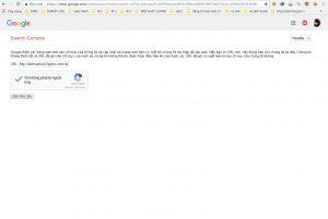 Cách Submit đường link mới lên Google