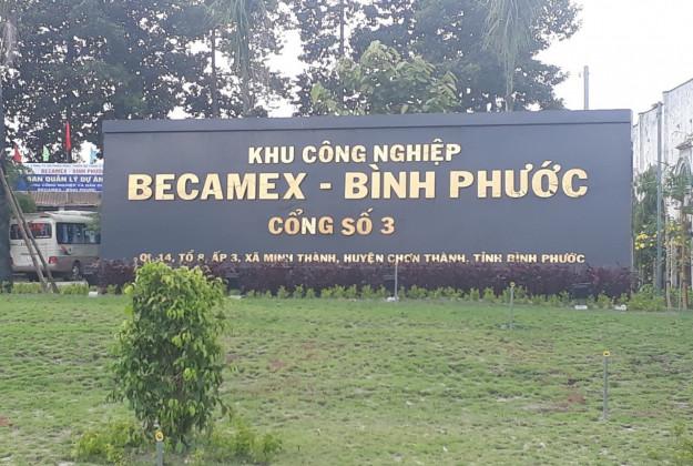 Giá đất nền KCN Becamex Chơn Thành