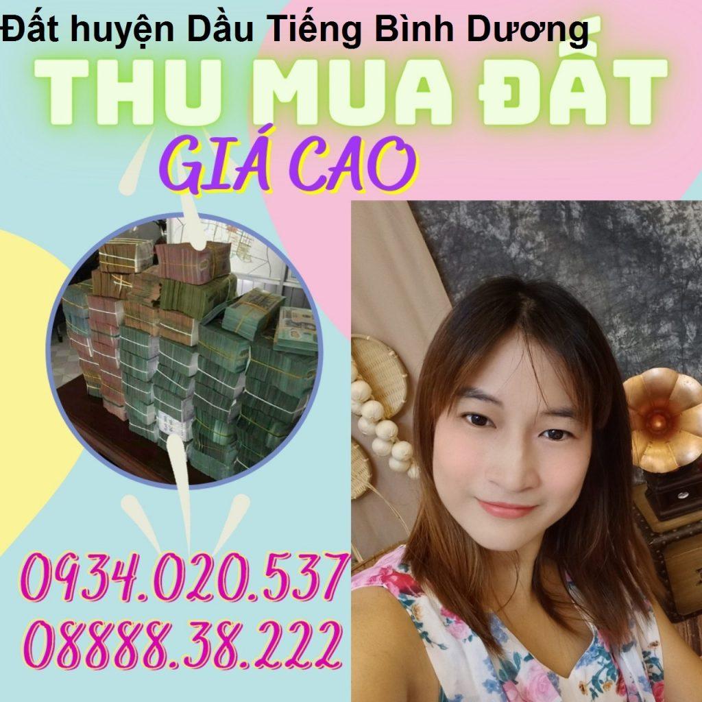 mua đất huyện Dầu Tiếng
